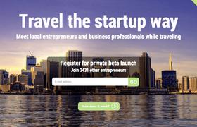 Запустили StartupTravels — платформу для бизнес-знакомств по всему миру