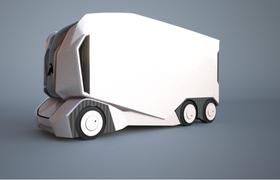 Шведский стартап представил беспилотные грузовики с опцией удаленного управления