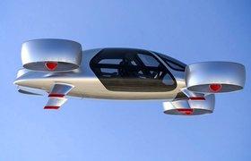 Российский стартап Bartini представил дизайн своего летающего такси на блокчейне