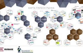 Мы обновили карту FinTech рынка России