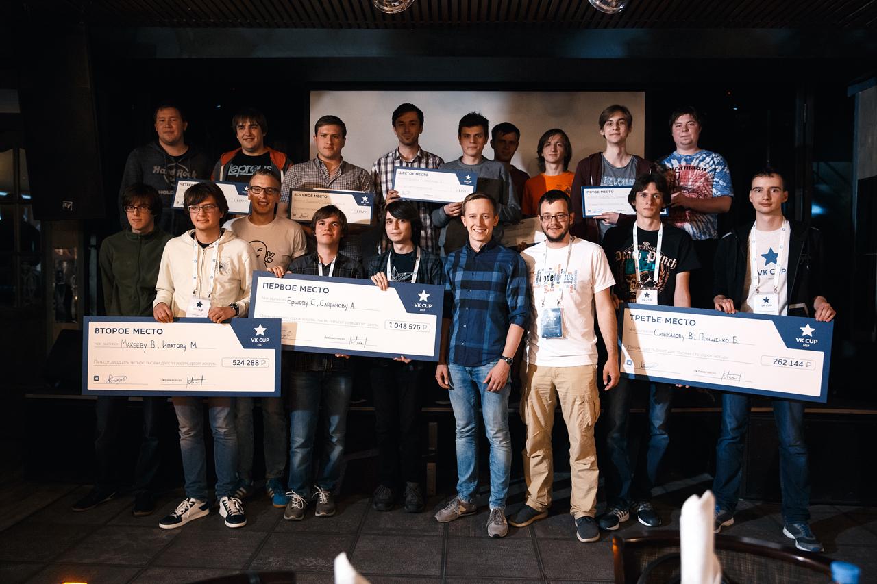 Конкурс программирования 2017