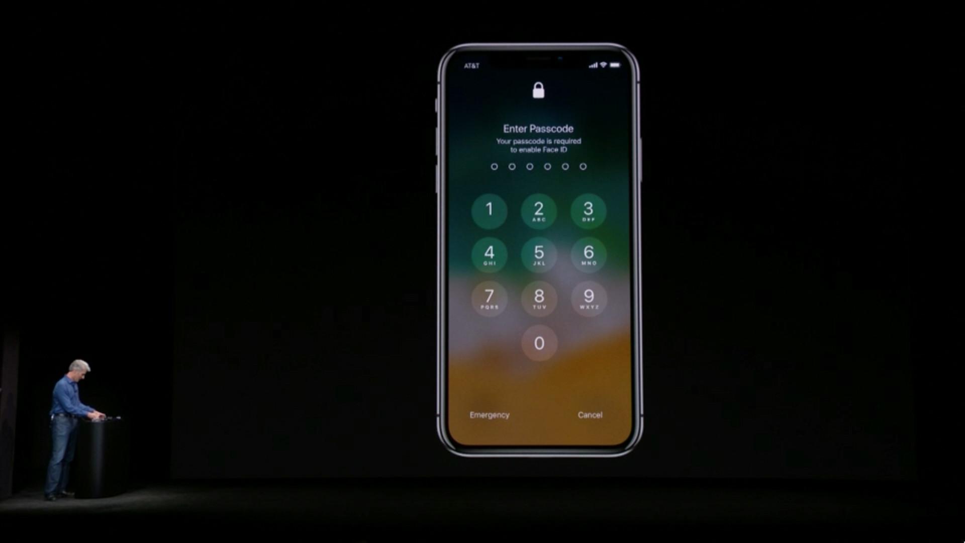 Функция распознавания лица не сработала на презентации нового iPhone X