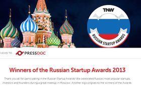 Объявлены победители конкурса Russian Startup Award от TheNextWeb