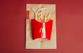 В Москве появился первый McDonald's в отделении Сбербанка