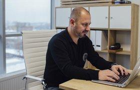 Рабочее место основателя YouDrive Бориса Голикова