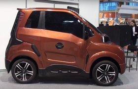 Названа цена российского электромобиля Zetta