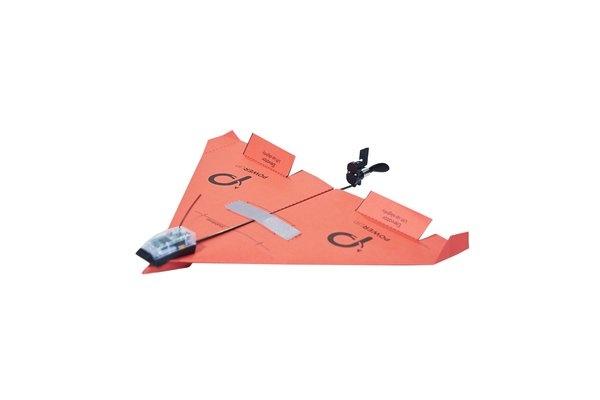 Бумажный самолет PowerUp, управляемый со смартфона