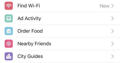 Фейсбук запустил функцию заказа еды через приложение