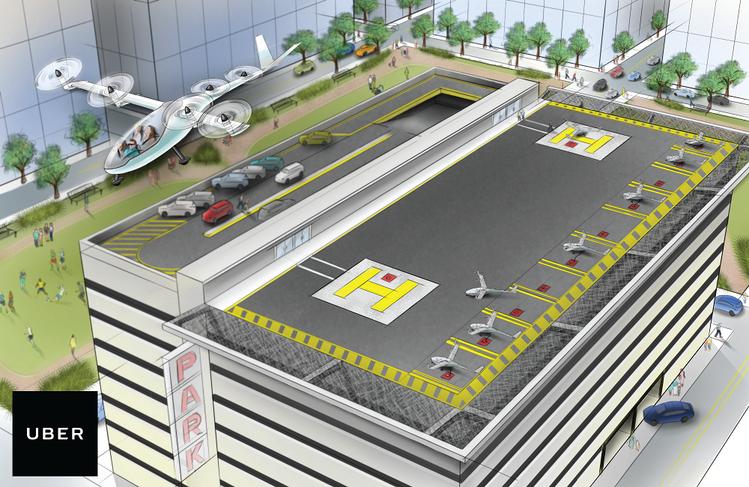 Uber нанял инженера NASA для разработки летающих авто