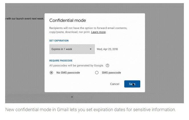 Google показала улучшенный почтовый сервис Gmail