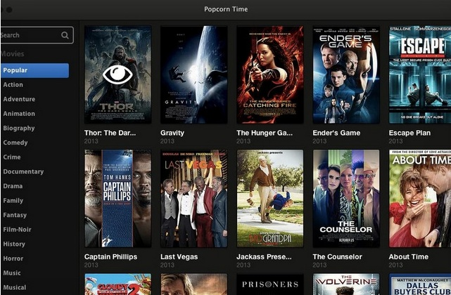popcorn time, фильмы, копирайт, авторские права, торренты