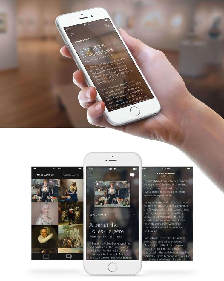 Программисты создали мобильное приложение, распознающее картины