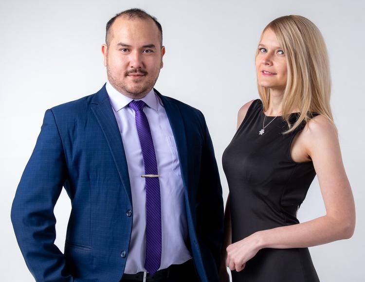 Антон и Ирина Ким