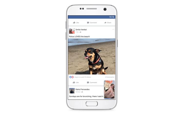 Социальная сеть Facebook запускает приложение для просмотра видео наэкранахТВ