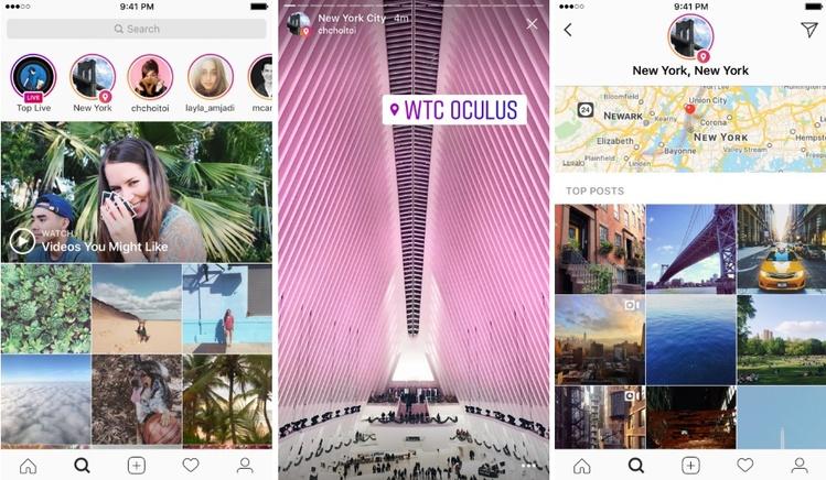 Социальная сеть Instagram изменил раздел вовкладке «Истории»