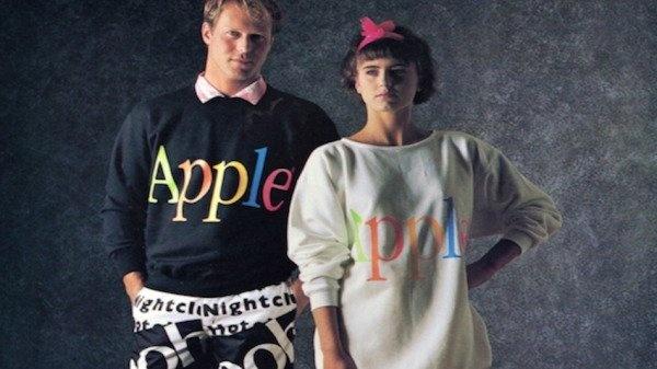 Коллекция одежды от Apple (1986)