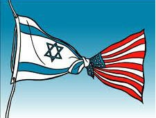 israel usa flag
