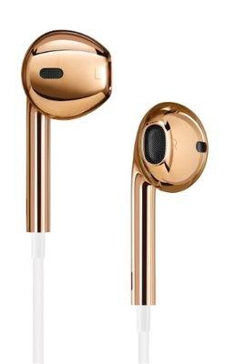 Золотые наушники Apple Gold EarPods (2013)