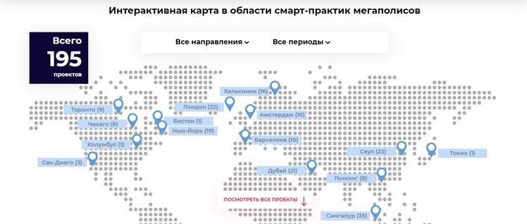 Карта Smart City