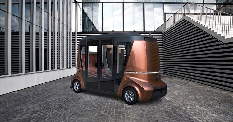 Машина-робот «MatrЁshka» получит государственную поддержку