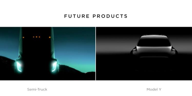 Размещен 1-ый тизер кроссовера Tesla Model Y