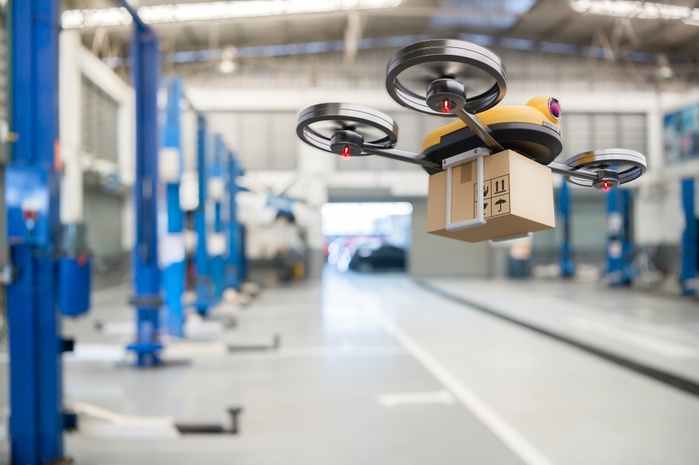 Доставка дронами, трекинг грузов и бесконтактная оплата: как технологии меняют логистику
