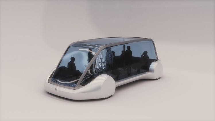 Компания Tesla показала концепт-кар подземного автобуса