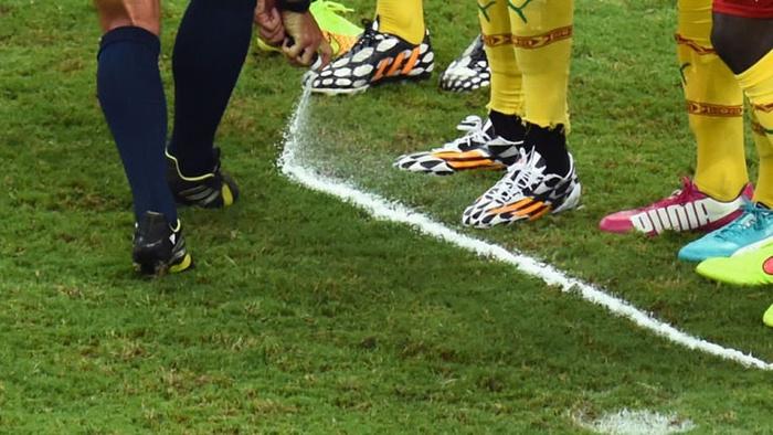 Исчезающий спрей— новые технологии на Чемпионате мира по футболу вРоссии