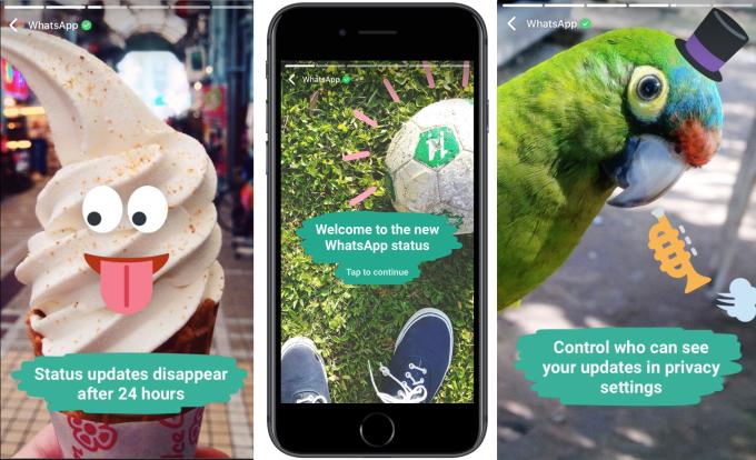 В WhatsApp появятся истории из Instagram