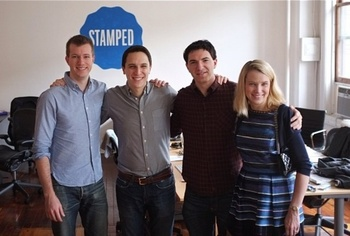 yahoo приобрела мобильный стартап stamped
