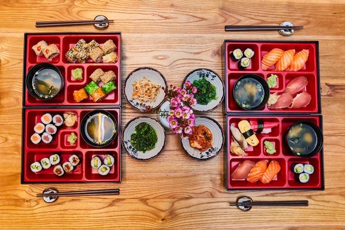 бенто, японская кухня