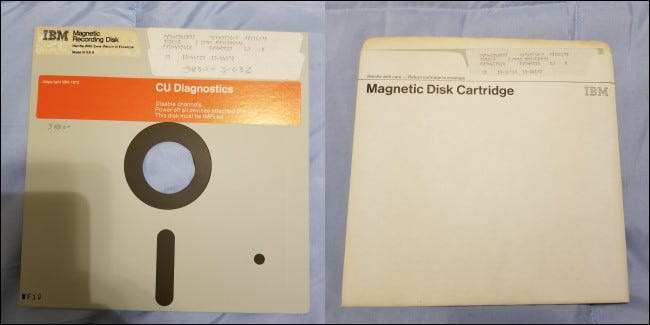 история дискеты, первая коммерческая дискета, 1971