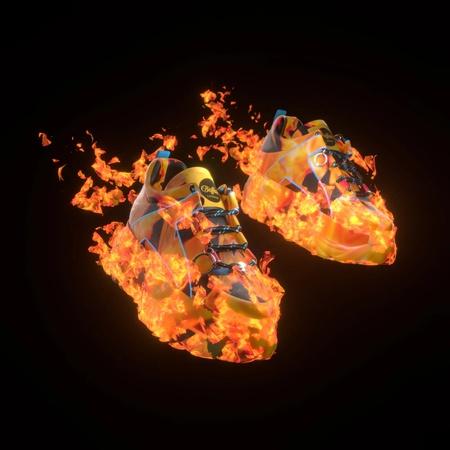 кроссовки, цифровая копия