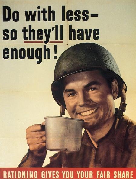 американский плакат, кофе, солдат с кофе