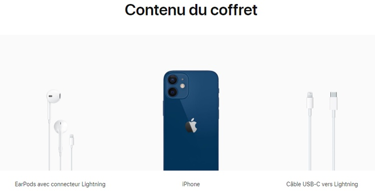 iPhone 12 France
