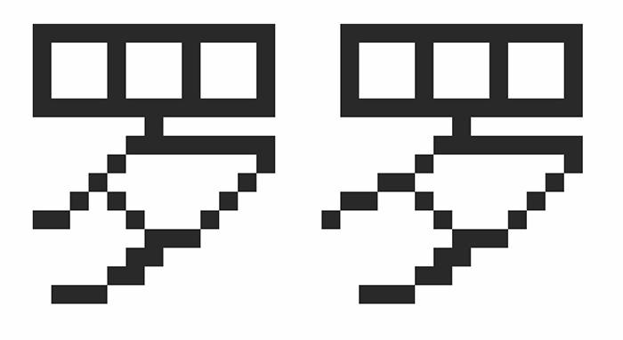 Сравнение иероглифов китайского шрифта