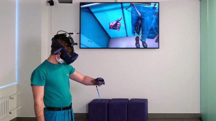 Занятия в VR