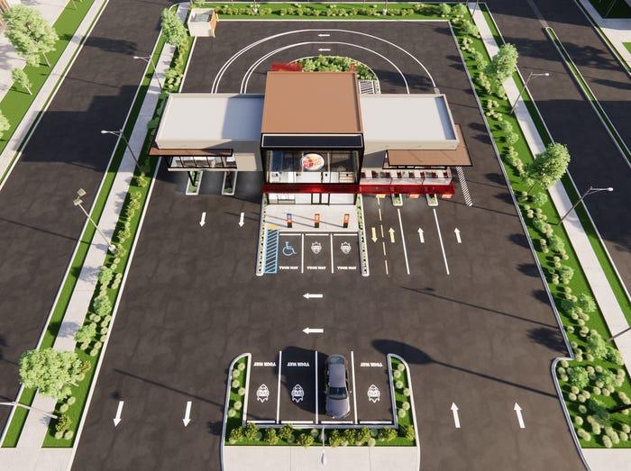 burger king new restaurant