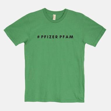 футболка, pfizer