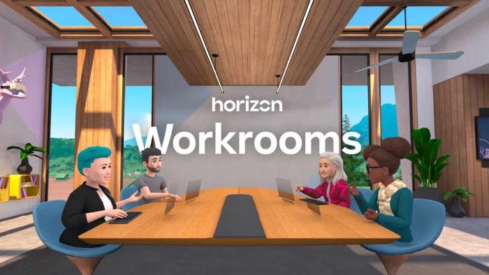 виртуальная конференция Horizon Workrooms, Facebook
