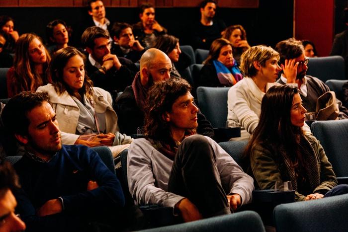 Слушатели в аудитории