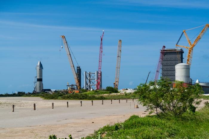 Бока-Чика, Техас, SpaceX Spaceship