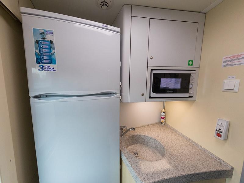 Вагоны оборудованы холодильниками
