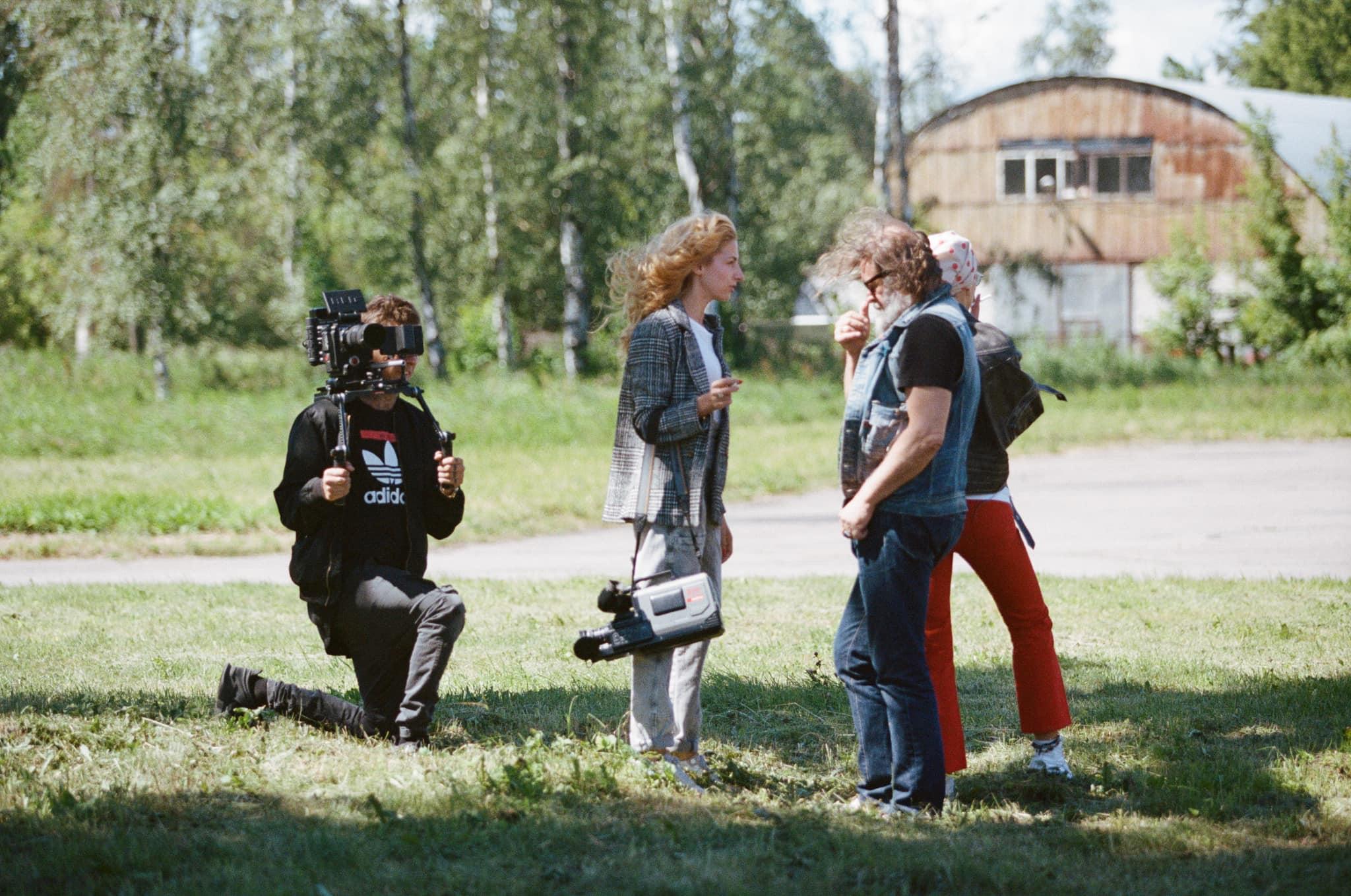Николаева с командой