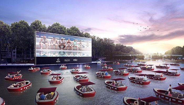water cinema
