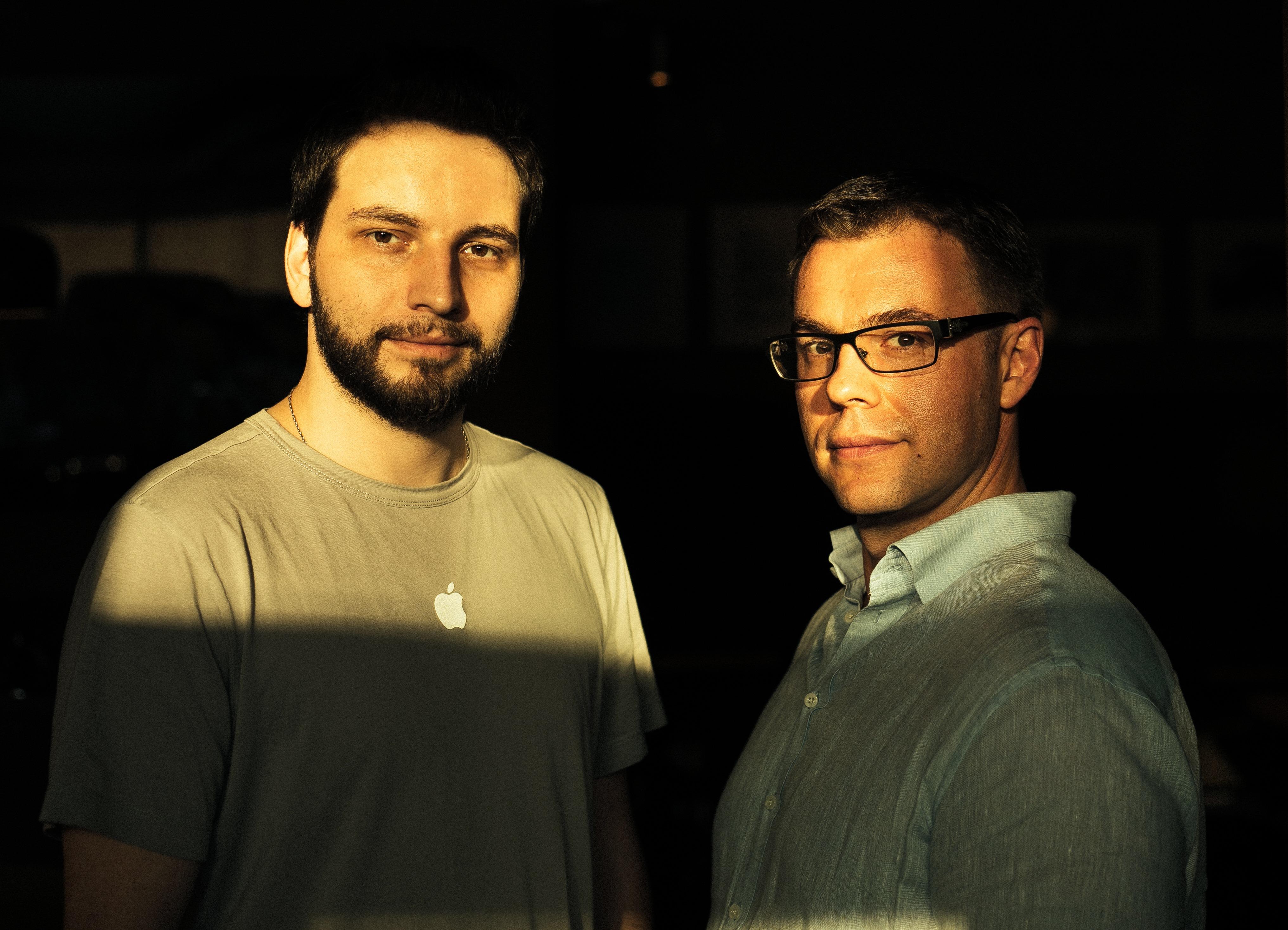Николай Давыдов и Михаил Тавер