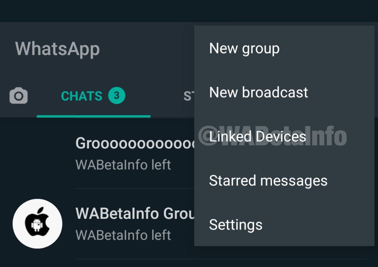 whatsapp linked devices